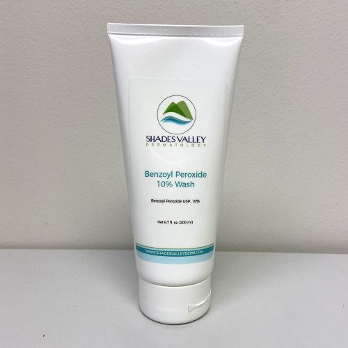 Benzoyl Peroxide 10% Wash by Shades Valley Dermatology